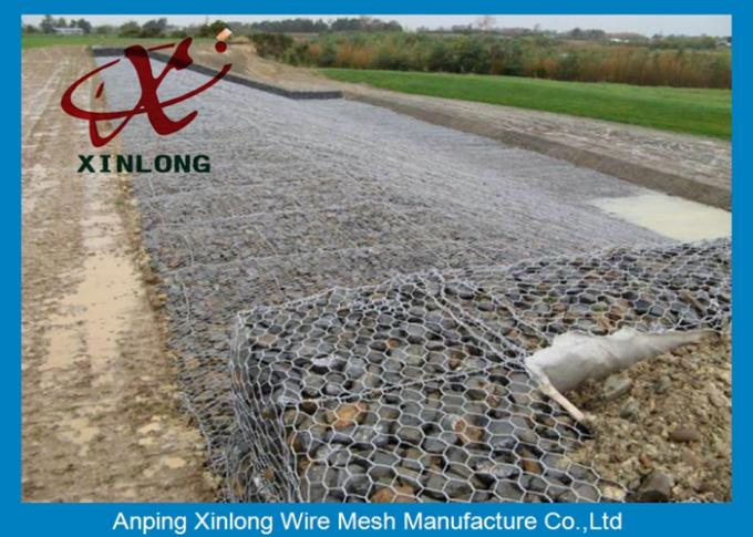 Xinlong Stone Cage Gabion Wire Mesh Various Lengths / Widths / Heights