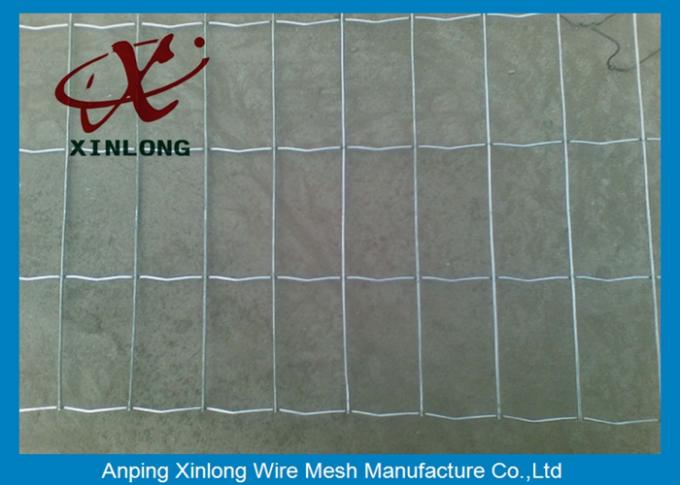 2'' * 2 '' Welded Wire Mesh Fencing For Industry Zone Anti - Corrosion