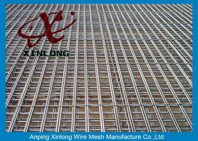 Various Aperture Reinforcing Welded Wire Mesh For Concrete