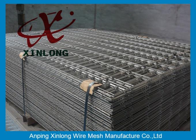 Square Hole Shape Galvanized Welded Wire Mesh Fence 200*200mm 100*100mm