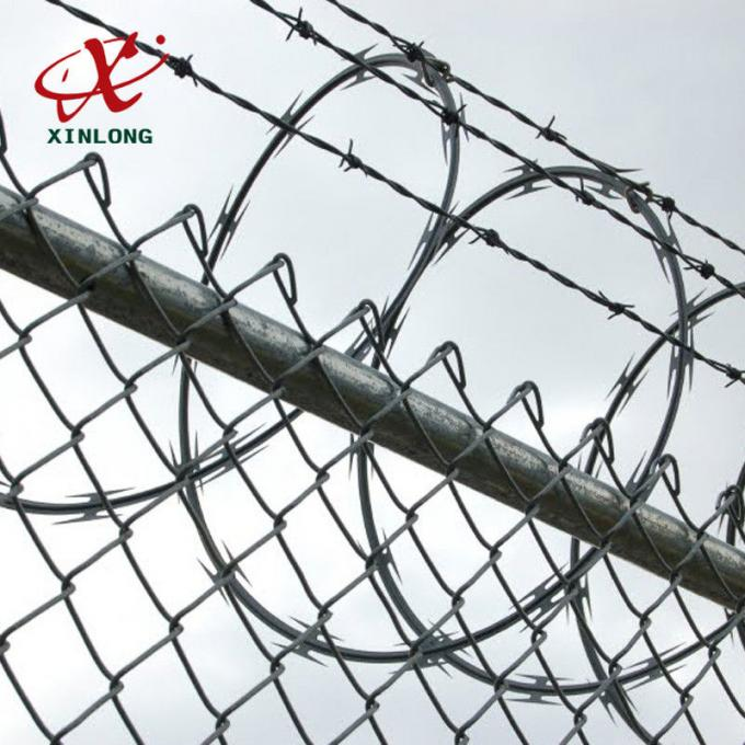 BTO CBT Razor Barbed Wire with Single / Double Coil For Airport
