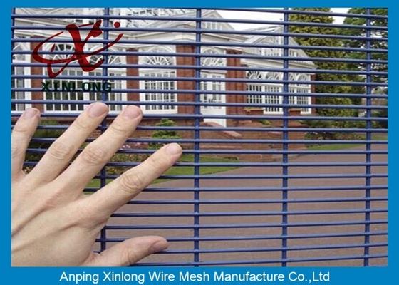 China Construction High Security Chain Link Fence Waterproof For Jail / Prison supplier