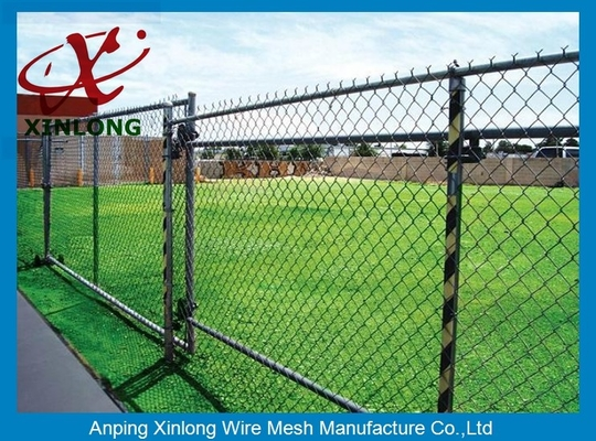 China Hot Dipped Galvanized Chain Link Fence for Forest Protecting Durable supplier