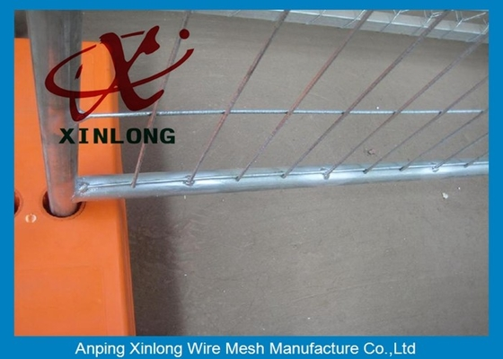 China Stable Galvanzied Temporary Fence For Backyard / Construction Site supplier