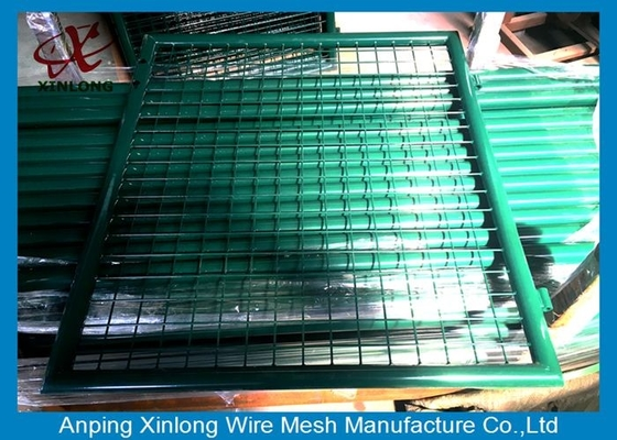 China Extraordinary Design Welded Fence Gate For Warehouses / Logistics Bases 4.5mm supplier
