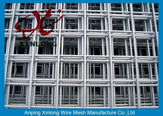 China 4x4 Stainless Steel Welded Wire Mesh Panels For Concrete Foundations supplier