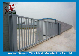 China 2m Height Automatic Sliding Gates For Driveways High Performance RAL 256 Colors supplier