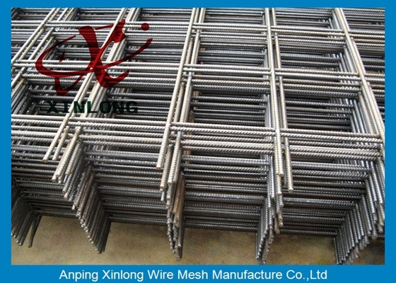 China Square Hole Shape Galvanized Welded Wire Mesh Fence 200*200mm 100*100mm  supplier
