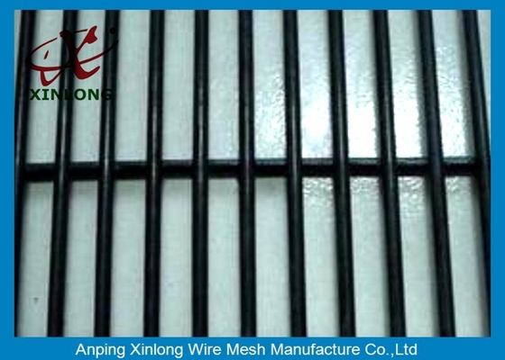 China Black High Security Fence 2.5*3m Erosion Resistance And Anti-Ultraviolet supplier