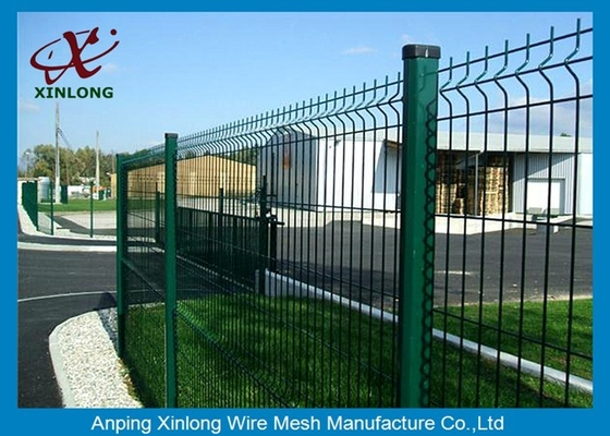 China Boundary Wall Powder Coated Welded Wire Mesh Fence Durable Customized Size supplier