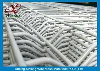 China Powder Coated Galvanized Welded Wire Mesh Fence Panels 2.2m 2.5m supplier