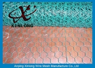 China Silver / Green Galvanised Chicken Wire For Farm Normal Hexagonal Wire Mesh company