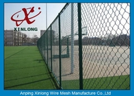 China Diamond Wire Mesh Fence Chain Link Fence For Outdoor Playground 50 * 50mm factory
