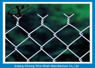 Hot Dipped Galvanized Chain Link Mesh Fence With Various Colors For Forest Protecting