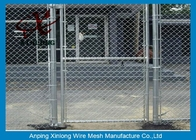 China Diamond Hole Chain Link Mesh Fence Galvanized Wire Mesh For Sports Ground Barrier factory