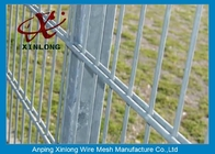 China Durable 6 / 8mm Hot Dipped Coated Double Wire Fence for High Security Place factory
