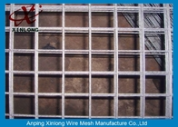 China Easily Assembled Galvanized Welded Wire Mesh Fence For Concrete Plain Weave Style company