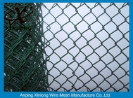 Hot Dipped Galvanized Chain Link Fence For Construction / Residential