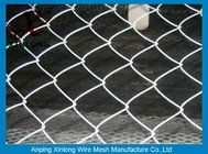 60*60mm Diamond Chain Link Mesh Fence For Agriculture ISO Standard