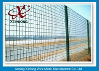 China Hot Dipped Galvanized Euro Panel Fencing Corrosion Resistant For Boundary company