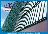 China RAL Colors Galvanized Double Wire Fence for Airport and Power Station factory