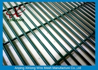 China 4.0mm Low Carbon Iron Wire PVC Coated 358 Security Fence For Prison factory