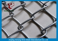 Hot Dipped Galvanized Chain Link Fence For Chicken Farms 20m Length