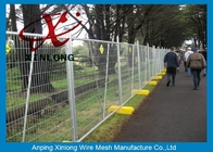 China Metal Iron Chain Link Fence Temporary Fencing Panels Various Size / Color Acceptable factory