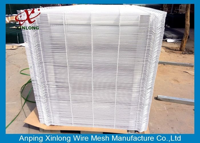 3D Welded Stainless Steel Wire Mesh , Square Welded Wire Fabric 50x200mm