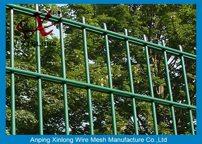 Acid Resistant Double Wire Fence Pool Security Fence Galvanized