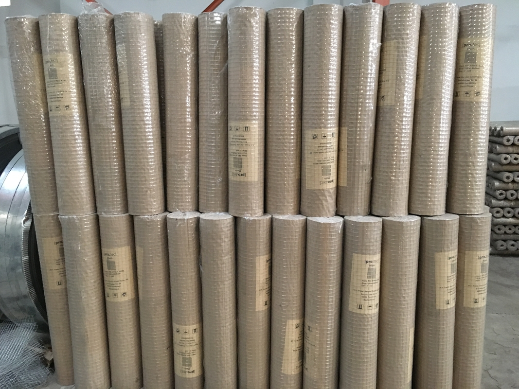 Galvanized Welded Wire Mesh / PVC coated welded wire mesh all sizes ...