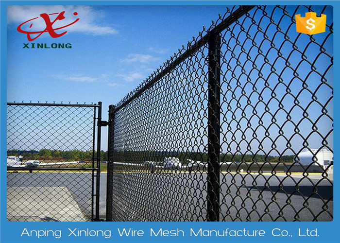 Multi Function Diamond Wire Netting , Chain Link Mesh Fence Twist ...