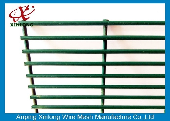 Dark Green Custom Security Fence , Residential Security Fencing Eco Friendly