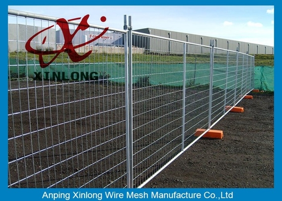 Outdoor Electric Temporary Fencing Panels With ISO9001 / 2008 Certificate