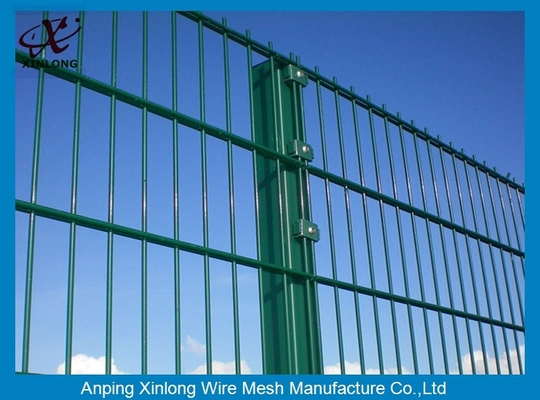 656mm Double Horizontal Wire Mesh Fencing / High Security Wire Fence