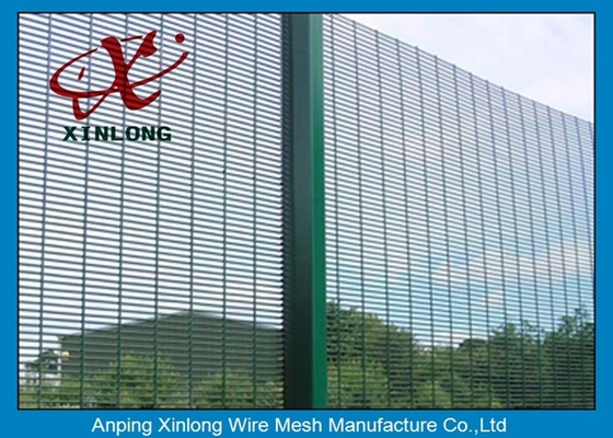 Anti-ultraviolet High Voltage 358 High Security Fence / Welded Mesh Fencing