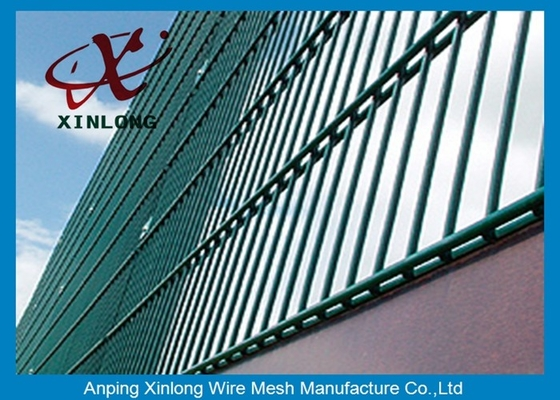 RAL Colors Galvanized Double Wire Fence for Airport and Power Station
