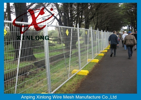 Metal Iron Chain Link Fence Temporary Fencing Panels Various Size / Color Acceptable