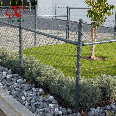Anping Xinlong electric galvanized or hot dipped galvanized/PVC chain link fence