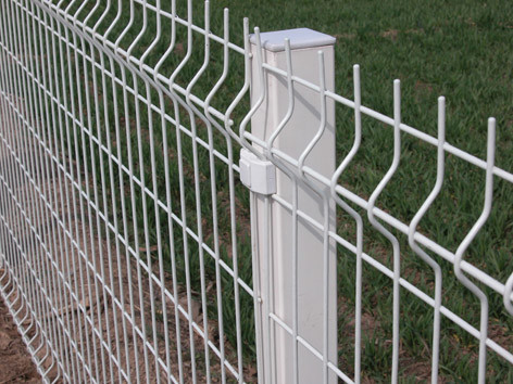 Powders Sprayed Coating Galvanized  Welded Wire Mesh Fence  for Sale