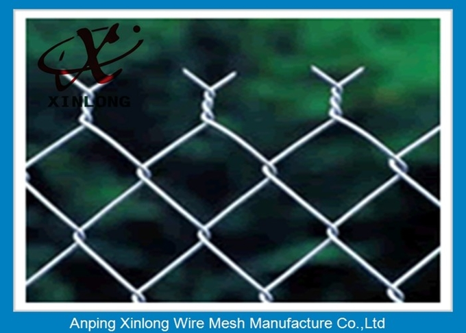 Hot Dipped Galvanized Chain Link Fence for Forest Protecting Durable